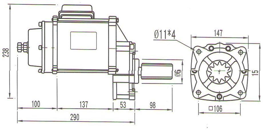 圣音马达S-050