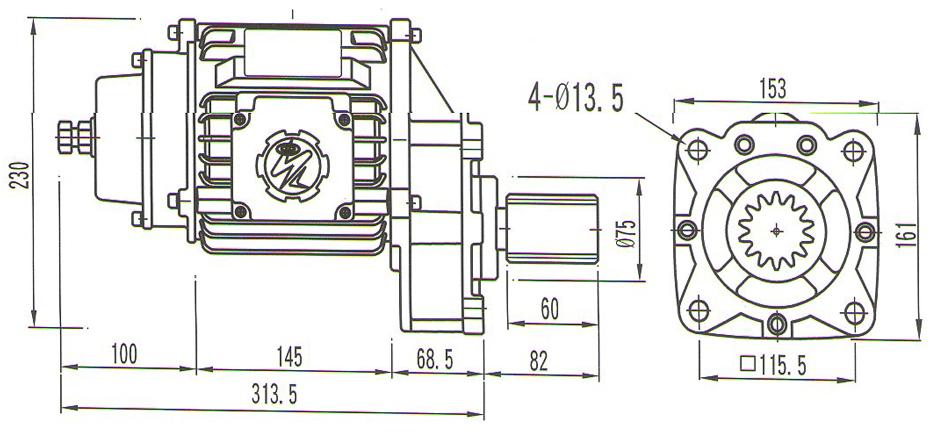 圣音马达SI-100(无缓冲型)