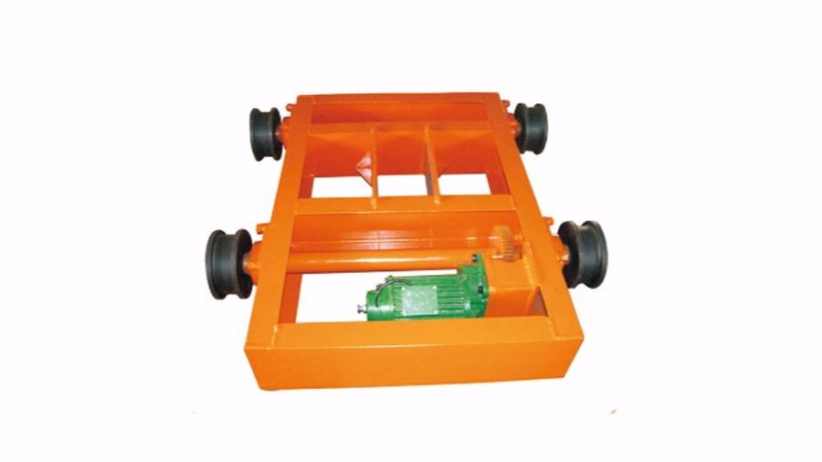 5T-1.2m链条电动台车