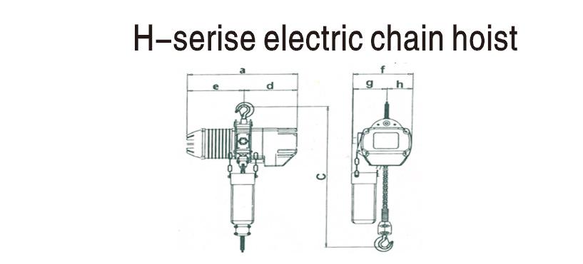 L、H型链条式吊车
